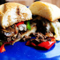 Grilled Cube Steak Burgers