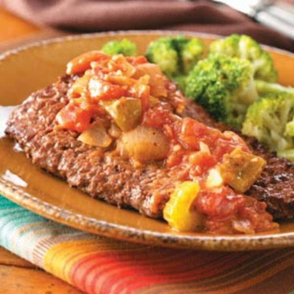 Creole Smothered Cube Steak