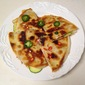 Zucchini Quesadillas with Spicy Rioja Salsa