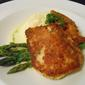 Parmigiano Crusted Halibut