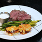 Roast Beef Tenderloin with Horseradish Cream