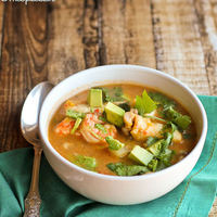 Brazilian Inspired Seafood Stew with Potatoes and Mushrooms (Moqueca)