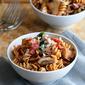 Mushroom, Bacon & Spinach Whole Wheat Pasta Recipe