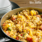Enchilada Style Chicken, Vegetable & Rice Skillet