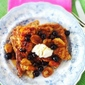 Orange and Coconut French Toast with Fruit