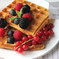 Orange Waffles – Low calorie
