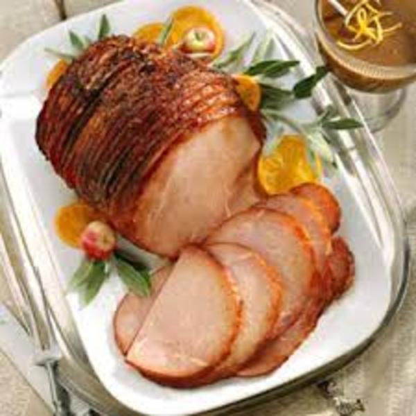 Ham With Orange Sauce