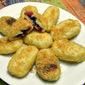 Blueberry Filled Dessert Gnocchi