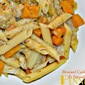 Cabbage and Squash Penne