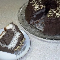 Angel Food Waldorf Cake