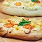 Garlic White Chicken Pizza