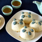 How to Make Panda Anman (饅頭 Manjyu) using a frying pan (Steamed Buns with Red Bean Paste) - Video Recipe