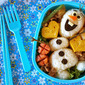 How to Make Olaf Bento Lunch Box (FROZEN Disney) - Video Recipe