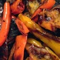Grilled Peppers and Portobello Mushrooms