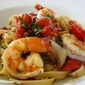 Fresh Tomato Shrimp Pasta