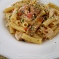 Grilled Chicken and Roasted Tomato Lemon Pasta