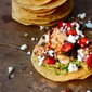 Gulf of Mexico Shrimp Tostadas with Ponchatoula Strawberry Salsa