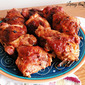 Chicken Thighs with Homemade Barbeque Sauce