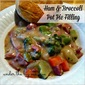 Ham & Broccoli Pot Pie Filling