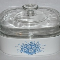About Town With Corningware - Blue Daisy & Primavera?