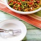 Asian Quinoa Salad with Snap Peas, Red Bell Pepper, Celery, and Peanuts (Gluten-Free, Vegan)