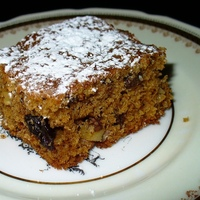 Old-Fashioned Raisin Walnut Spice Bars