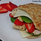 Strawberry Chicken Sandwich