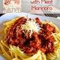 Spaghetti with Meat Marinara