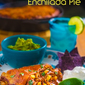 Smoked Chicken Enchilada Pie
