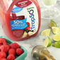 Sparkling Raspberry and Lime Sherbet Float For Girls' Night In With Trop50 #GirlsNightIn