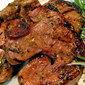 Grilled Teriyaki Lamb Chops