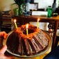 A Grand Marnier Chocolate Bundt with Miso Caramel Glaze. Sometimes, it Just Ain't Pretty.