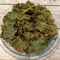 Spicy Orange Fennel Kale Chips