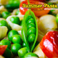 Summer Pasta with Tomatoes and Peas