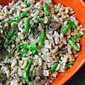 Creamy Dill Chicken & Green Bean Stroganoff Pasta