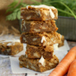 Carrot Cake Blondies (Boozy, or not) inspired by Bridesmaids {food 'n flix}
