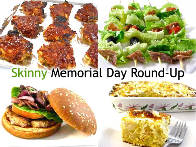 Skinny Memorial Day Recipes You'll Love