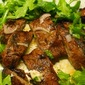 Weekend Entertaining...Flank Steak Salad With Arugula And Blue Cheese