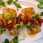Pan-Seared Wahoo with Tomato-Avocado Relish