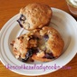 PINEAPPLE BLUEBERRY BRAN MUFFINS