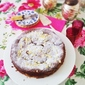 Rhubarb Buttermilk Cake with Ginger Streusel