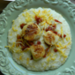 Scallops and Grits