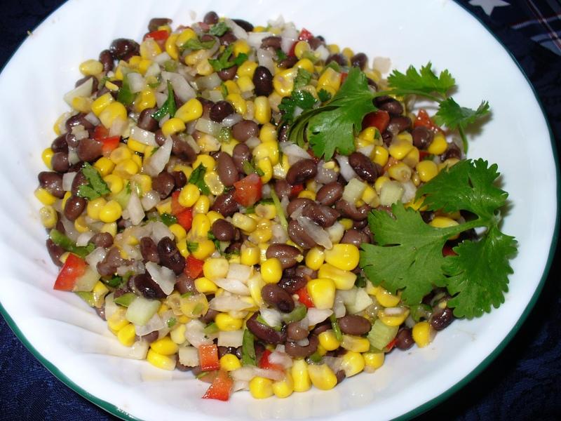 Thai Black Bean & Corn Salad or Salsa