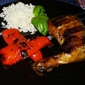 Grilled Chicken with Teriyaki Marinade