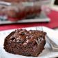 Chocolate Banana Applesauce Cake