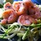 Cilantro Lime Shrimp with Zucchini Noodles