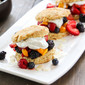 Tropical Berry Shortcakes with Coconut Whipped Cream