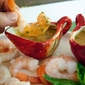 Appetizer Recipe: Shrimp with Spicy Chili Garlic Peanut Sauce
