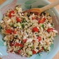 Israeli Couscous Salad with Feta and Fresh Herbs