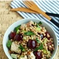 10-minute cherry and chicken couscous salad